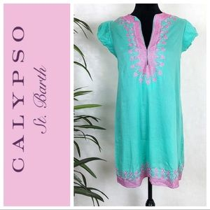 Calypso ST. Barth Rowena embroidered dress